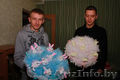 Букеты из мягких игрушек к выписке из Роддома и любому празднику в Светогорске.