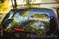 Наклейки на автомобиль на выписку из Роддома в Светлогорске